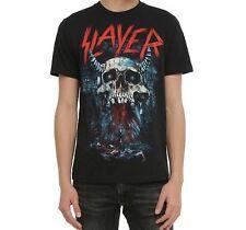 Slayer BLEEDING SKULL T-Shirt Heavy Metal Band NEW Licensed & Official