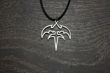 Queensryche triryche necklace logo symbol pin charm emblen tri-ryche patch