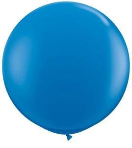 Dark Blue Giant 3ft Qualatex Latex Balloons