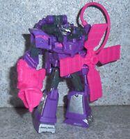 Transformers Cyberverse SPARK ARMOR SHOCKWAVE Complete Deluxe Figure