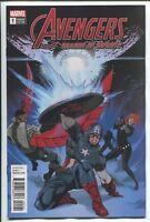 Avengers Shards of Infinity #1 Andrasofsz Variant Comic 1st Print 2018 unread NM