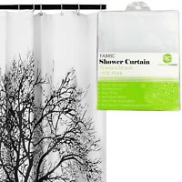 Shower Curtain with Tree Design 100% Waterproof & Eco-Friendly