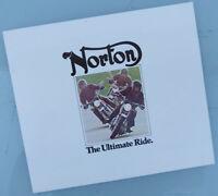 1975 NORTON MOTORCYCLE BROCHURE BOOK MANUAL CATALOG  JPS COMMANDO ALL MODELS
