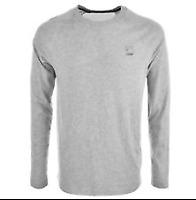 G-Star Raglan LS Tee Mens TShirt Grey T-Shirt Top Size Extra Large *CR36