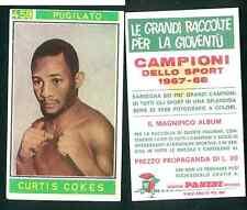 Curtis Cokes (USA) Panini Boxing CARD 1967! Good n.459