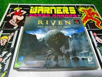 Riven myst 2 no manual PlayStation 1 PSX PS1 Retro Game import japan ntsc j JAP