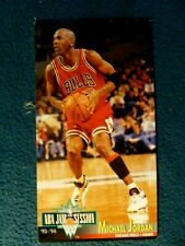 1993-94 JAM SESSION FLEER BIG CARD OF MICHAEL JORDAN  (EXTREMELY RARE)