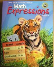 Math Expressions, Student Activity Book, Vol. 1, Grade 2 by