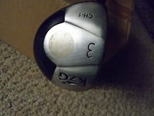 Men left handed regular steel KZG CH-1 fairway wood 3 wood