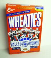 Dallas Cowboys Super Bowl XXX Wheaties Cereal Box 1995 Empty Not Flattened