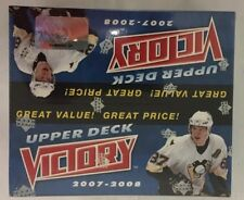 2007-08 Upper Deck Victory Factory Sealed Hockey Hobby Box