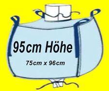 * 10 Stück BIG BAG 95 cm hoch - 75 x 96 cm - Bags BIGBAG Fibc 1000kg Traglast