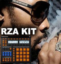 RZA-Wu Tang KIT TAMBURO LIBRERIA Hop mpc Hip Maschine Ableton WAV 24 Bit
