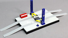 RC Scale Mechanic Garage CAR AUTO LIFT For Work Shop 1/24 BATTERY OPERATED
