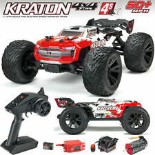 Arrma 1/10 Scale Kraton 4x4 4WD 4S BLX Brushless RC Truggy Truck RTR ARA102690
