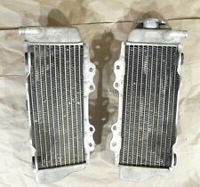 Yamaha Radiators Left Right 2003-2004 WR450F  Cleaned Tested #2146
