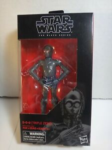 STAR WARS BLACK SERIES 6 INCH 0-0-0 TRIPLE ZERO #89 FROM DR. APHRA COMICS