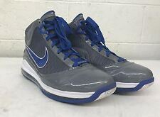 Nike Air Max Lebron VII Cool Gray & Varsity Royal Blue 393320 Men 13/47.5 MINTY