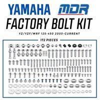 MDR Yamaha Factory 172 PIECE BOLT HARDWARE KIT YZ125 YZ250 YZ250F YZ450F WRF450