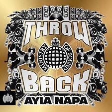 THROWBACK AYIA NAPA - MINISTRY OF SOUND 3 CD ALBUM SET (July 13th 2018)