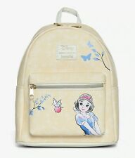 Loungefly Disney Princess SNOW WHITE SKETCH MINI BACKPACK NWT Bag Faux Leather