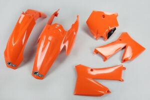 kit plastiche carene Ufo Ktm Sx 85 2006 2007 2008 2009 2010 2011 2012 arancione