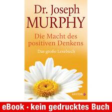 eBook-Download (EPUB) ★ Joseph Murphy: Die Macht des positiven Denkens