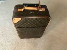 Louis Vuitton authentic suitcase missing rolling bag handle Pegase 55