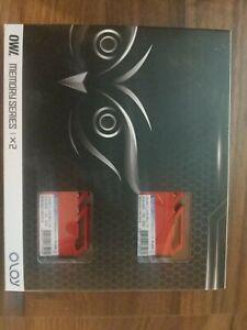 Oloy Owl 16GB Memory Kit, 2x 8GB 3200 MHz PC4-25600 - Free Shipping