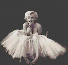Marilyn Monroe Counted Cross Stitch Kit Celebrity/Actress/People