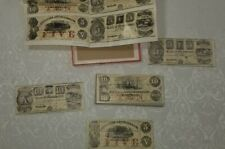 VINTAGE Antique Paper Money JIG-SAW PUZZLES SET OF FOUR NOS