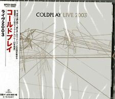 COLDPLAY-LIVE2003-JAPAN CD Ltd/Ed C75