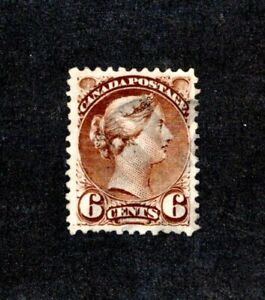 Canada, Scott #143, Used  (6-cent Queen Victoria, Ottawa Printing, 1888-1897)