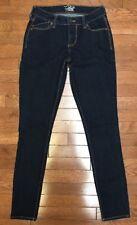 Old Navy The Flirt Skinny Stretch Denim Dark Wash Rinse Jeans sz 0 R 30 New NWOT