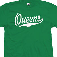 Queens Script Tail T-Shirt - All Star Sports Team NY Tee - All Sizes & Colors