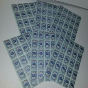 150 Blue Chip saving stamps 6 sheets of 25 vintage trading stamps paper ephemera