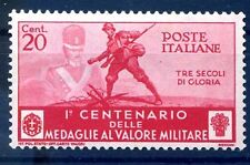 REGNO 1934 - MEDAGLIE  Cent. 20   NUOVO **