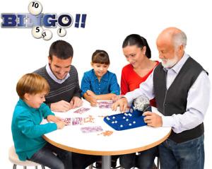 Loterie Automatique. Jeu Loto Bingo Complet: Boulier + 90 Boules Familial