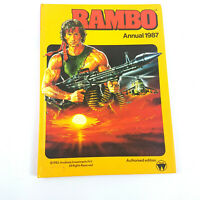 Rare Collectable Rambo Annual Book - Vintage 1987 Charity Auction Good condition