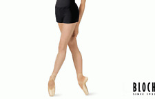 NWT Dance Bloch Black Booty Shorts V Link Waist Band Ladies Small Adult R5904
