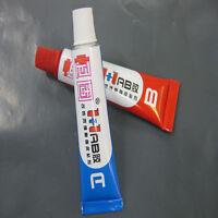 2 PCS A+B Komponenten Epoxidkleber Klebstoff Epoxidharz Epoxid Sofortfest .