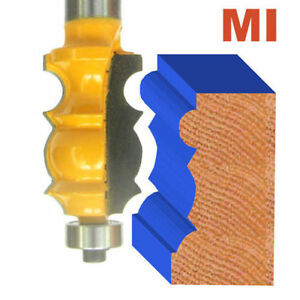 """1 pc 1/2"""" Shank Architectural Specialty Molding I Router Bit S"""