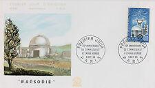 ENVELOPPE PREMIER JOUR - 9 x 16,5 cm - ANNEE 1965 - CEA RAPSODIE