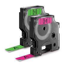 DYMO Standard D1 Labeling Tape for LabelManager Label Makers, Black 1933238
