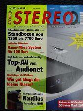 STEREO 1/05 LINN KLIMAX KONTROL,500 TWIN,TRANSROTOR AC,TANNOY EYRIS DC3,AUDIO