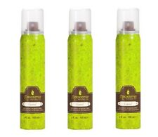 3x Macadamia Natural Oil Control Fast-Drying Working Spray 3 oz Hair Spray