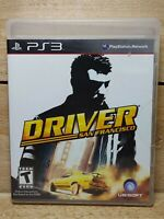 Driver: San Francisco (Sony PlayStation 3, 2011) Complete Possible Audio Issue