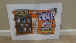 1998 Wheaties Power Hitters Griffey Jr McGwire-Thomas-Bonds-Piazza-Martinez
