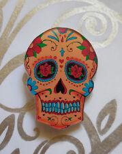 Day of the Dead brooch muerto skull muertos goth punk funky tattoo