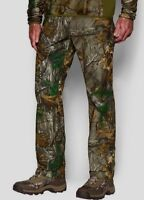 Under Armour Storm Covert Camo Pants Realtree Xtra Brown 1279730 Men's New 44/32